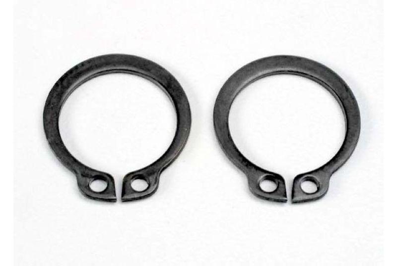 Крепеж для радиоуправляемых моделей TRAXXAS Rings, retainer (snap rings) (14mm) (2)
