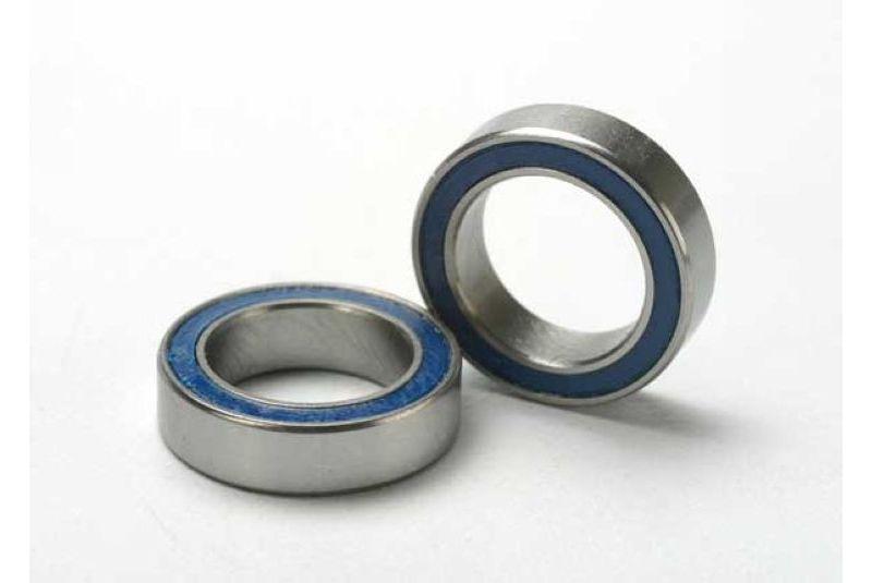 Подшипники для радиоуправляемых моделей TRAXXAS Ball bearings, blue rubber sealed (10x15x4mm) (2)