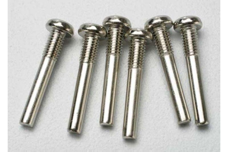 Крепеж для радиоуправляемых моделей TRAXXAS Screw pin, 2.5x18mm (6)
