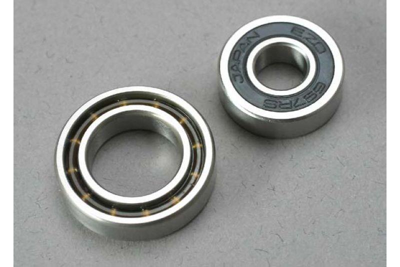 Подшипники для радиоуправляемых моделей TRAXXAS Ball bearings (7x17x5mm) (1): 12x21x5mm (1) (TRX 3.3, 2.5R, 2.5 engine bearings)