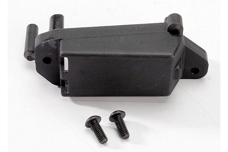 Запчасти для радиоуправляемых моделей Traxxas TRAXXAS Servo mount, throttle: 4x10mm BCS (2)