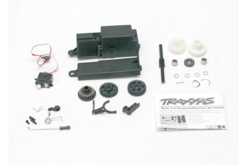 Запчасти для радиоуправляемых моделей Traxxas TRAXXAS Reverse installation kit (includes all components to add mechanical reverse (no Optidrive) Revo)