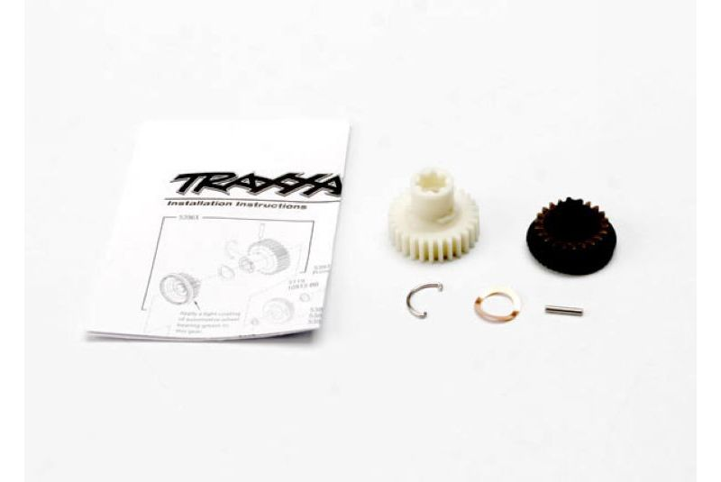 Запчасти для радиоуправляемых моделей Traxxas TRAXXAS Primary gears, forward and reverse: 2x11.8mm pin: pin retainer: disc spring