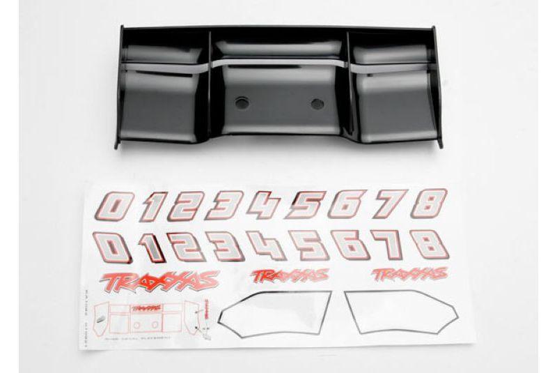 Запчасти для радиоуправляемых моделей Traxxas TRAXXAS Wing, Revo (black): decal sheet