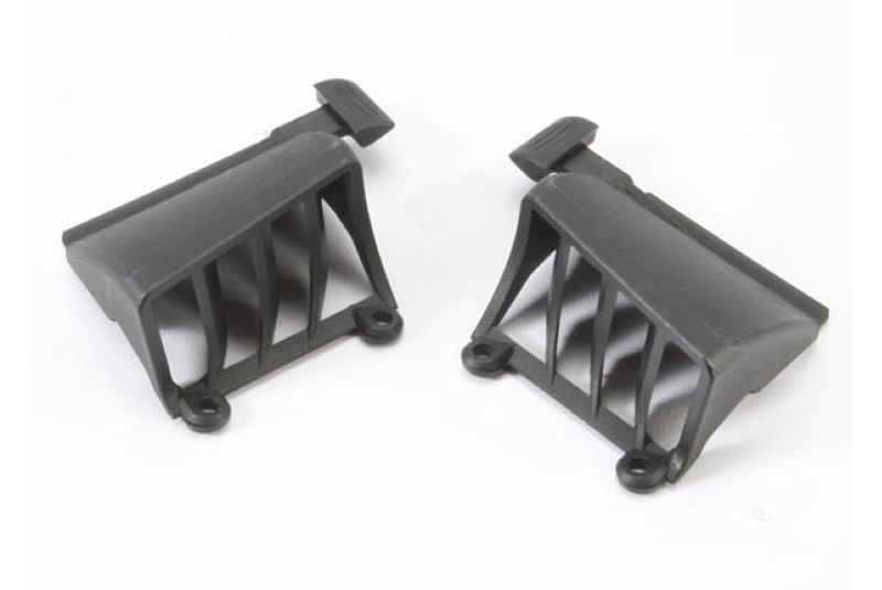 Запчасти для радиоуправляемых моделей Traxxas TRAXXAS Vent, battery compartment (includes latch) (1 pair, fits left or right side)