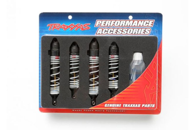 Запчасти для радиоуправляемых моделей Traxxas TRAXXAS Big Bore shocks (hard-anodized & PTFE-coated T6 aluminum) (assembled with TiN shafts and springs