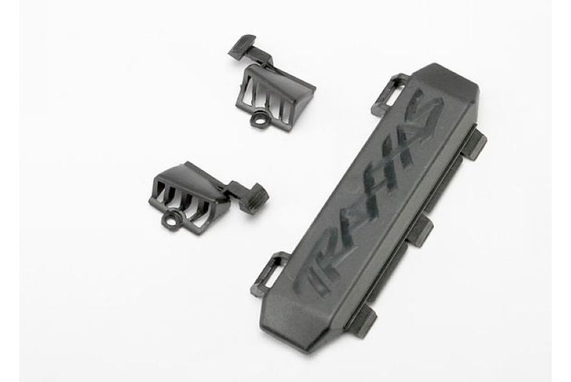 Запчасти для радиоуправляемых моделей Traxxas TRAXXAS Door, battery compartment (1): vents, (1 pair) (fits right or left side)