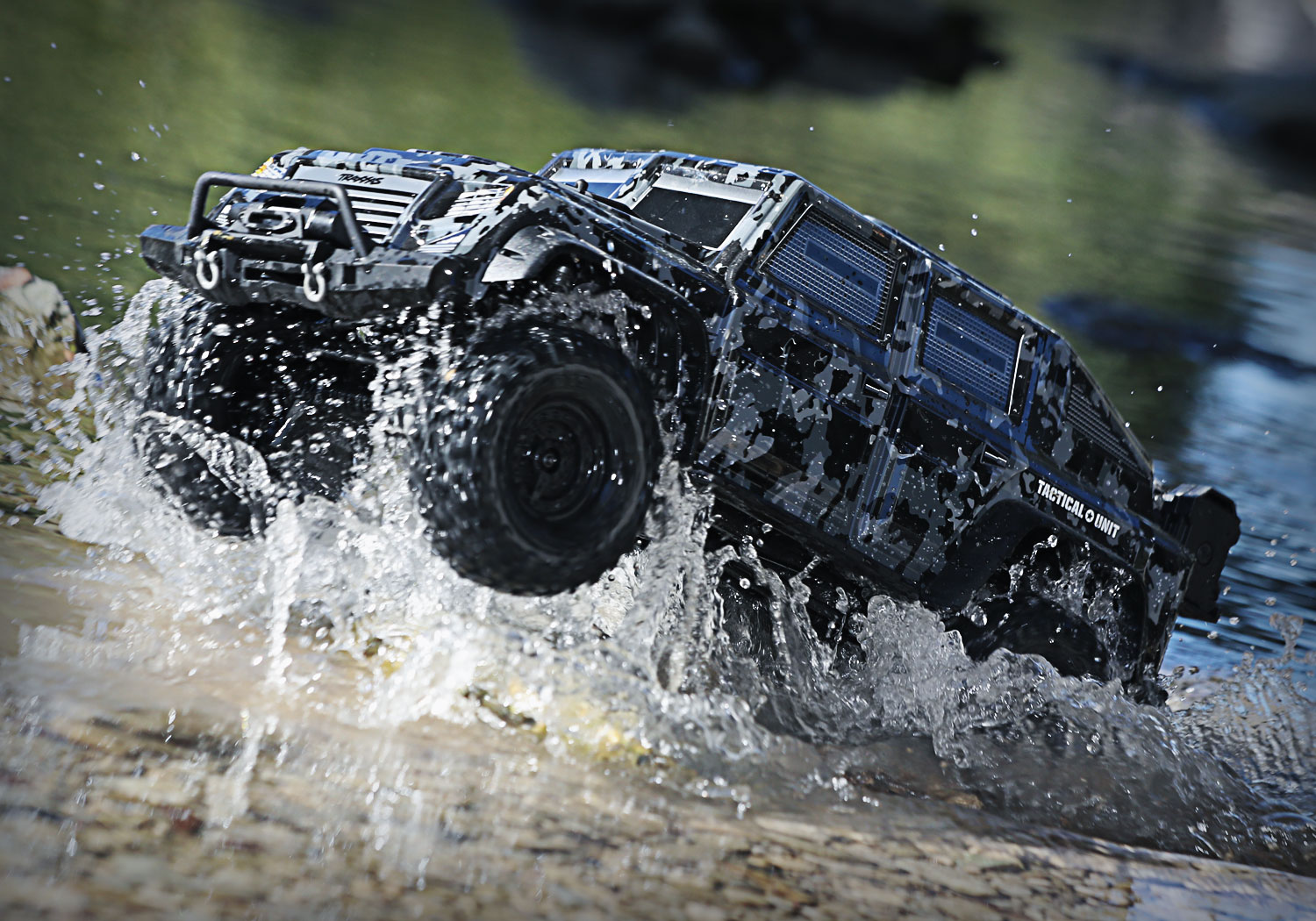 Traxxas TRX-4 Tactical Unit TACTICAL
