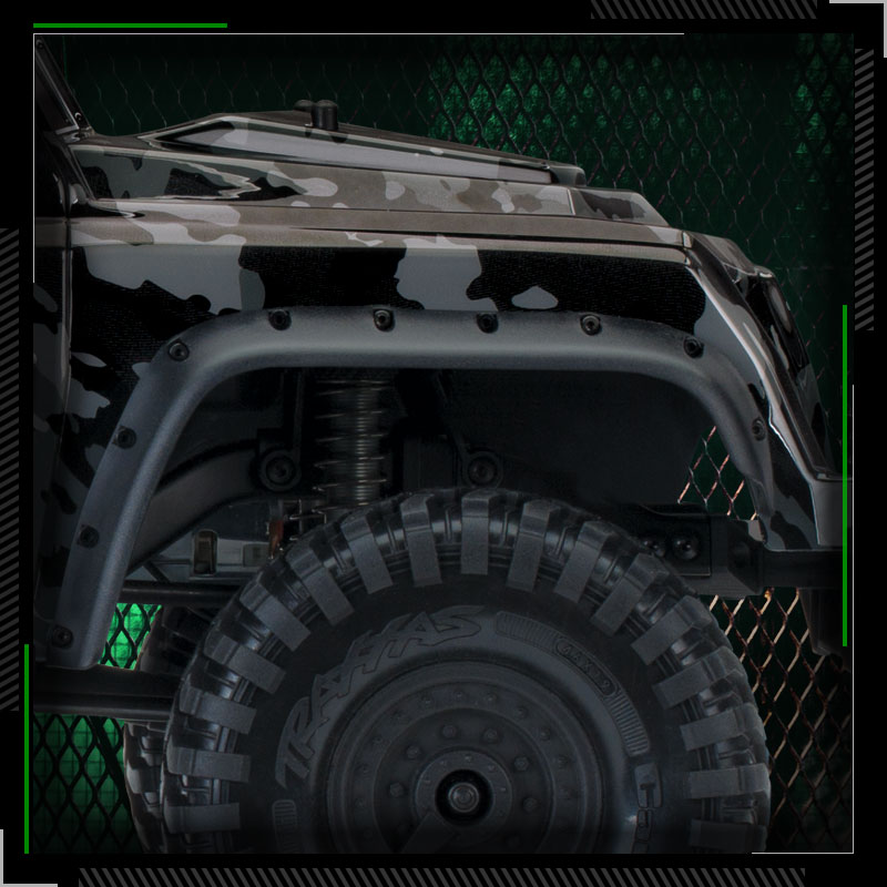 Traxxas TRX-4 Tactical Unit