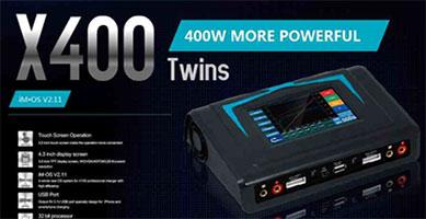 Поступление зарядных устройств и аксессуаров от iMax RC! В наличии самое мощное зарядное устройство нового поколения - X400!