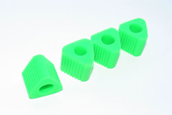 Anderson TRIANGULAR PAD FOR HELI LANDING GEAR (GREEN)