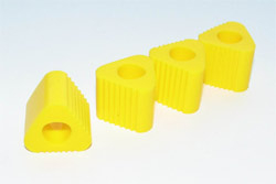 Anderson TRIANGULAR PAD FOR HELI LANDING GEAR (YELLOW)