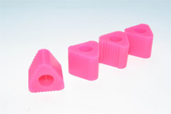 Anderson TRIANGULAR PAD FOR HELI LANDING GEAR (PINK)