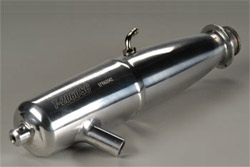 O.S. Engines запчасти T-2060SC WN Tuned Silencer Assembly