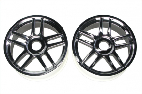 KYOSHO запчасти Wheel(10-Spoke:Silver Platinge:2Pcs)