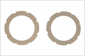KYOSHO запчасти Dual Slipper Sheat(White:RB5:2Pcs)