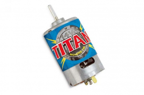 TRAXXAS запчасти Motor,Titan 550 (21-turns: 14 volts) (1)