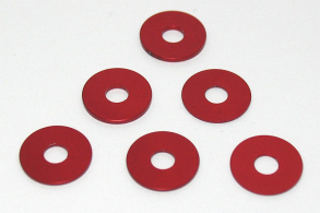 KYOSHO запчасти Wheel Spacer Set(0.5 0.75 1.0:Red:TF-5 S