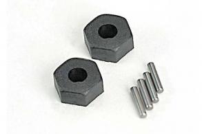 TRAXXAS запчасти Wheel hubs, hex (2): stub axle pins (2)