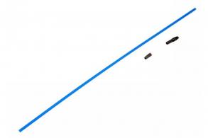 TRAXXAS запчасти Antenna, tube (1): vinyl antenna cap (1): wire retainer (1)