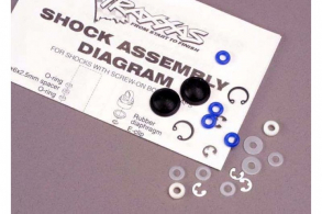 TRAXXAS запчасти Rebuild kit, Ultra shocks (for 2 shocks