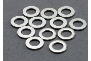 TRAXXAS запчасти Washers, 3x6mm metal (12)