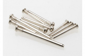 TRAXXAS запчасти Suspension screw pin set, steel (hex drive) (requires part # 2640 for a complete suspension pin set)