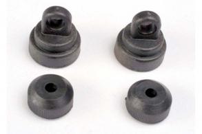 TRAXXAS запчасти Shock caps (2): shock bottoms (2)