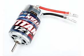 TRAXXAS запчасти Motor, Titan 12T (12-Turn, 550 size)