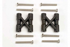 TRAXXAS запчасти Bulkhead cross braces (2): 3x25mm CS screws (8)
