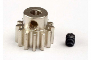 TRAXXAS запчасти Gear, 13-T pinion (32-p) (mach. steel): set screw