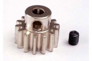 TRAXXAS запчасти Gear, 14-T pinion (32-p) (mach. steel): set screw
