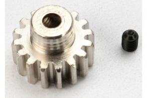 TRAXXAS запчасти Gear, 16-T pinion (32-p) (mach. steel): set screw