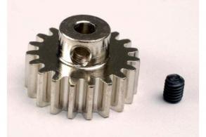 TRAXXAS запчасти Gear, 19-T pinion (32-p) (mach. steel): set screw