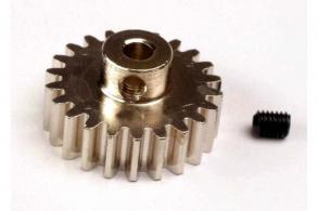 TRAXXAS запчасти Gear, 22-T pinion (32-p) (mach.steel):set screw