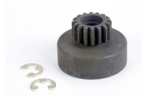 TRAXXAS запчасти Clutch bell, (16-tooth):5x8x0.5mm fiber washer (2): 5mm E-clip (requires #2728 - ball bearings, 5x8x