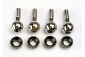 TRAXXAS запчасти Pivot balls (4): pivot ball cap bushings (4)