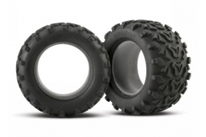 "TRAXXAS запчасти Tires, Maxx 3.8"" (6.3"" outer diameter (160mm)) (2) (fits Revo:Maxx series)"