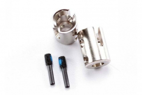 TRAXXAS запчасти Drive cups, inner (2) Revo:Maxx (steel constant-velocity driveshafts):screw pin, M4:15(2)
