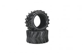 TRAXXAS запчасти Tires, Maxx Chevron 3.8'' (2) (fits Revo:Maxx series)