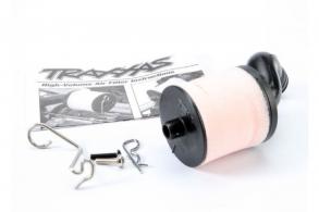 TRAXXAS запчасти Air filter body (high-volume): filter support: cap: foam filter, pre-filter: T-Maxx filter base (ang
