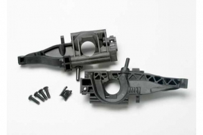 TRAXXAS запчасти Bulkhead, rear (L&R halves): diff retainer, rear: 4x14mm BCS (2)