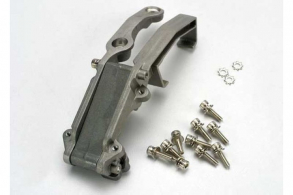 TRAXXAS запчасти Engine mount (complete assembly): 3x28mm CS with washers (2): 3x10 CS with washers (10)