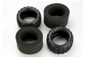 TRAXXAS запчасти Tires, Talon 3.8'' (2): foam inserts (2)