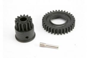TRAXXAS запчасти Gear, 1st speed 32T: input gear 14T