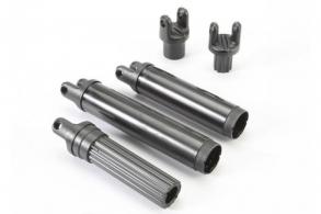 TRAXXAS запчасти Half shafts, center (internal splined (3): external splined (2)) (plastic parts only)