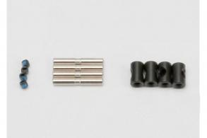 TRAXXAS запчасти Cross pin (4): drive pin (4): set screw (4) (to rebuild 2 driveshafts)