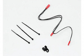 TRAXXAS запчасти LED lights, center harness, Summit (1): wire clip (1)