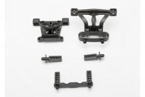 TRAXXAS запчасти Body mounts, front & rear: body mount posts, front & rear