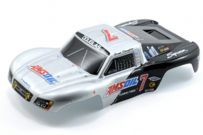 TRAXXAS запчасти Body, Amsoil replica, 1:16 Slash (painted, decals applied)